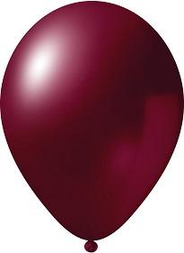 metallic burgundy