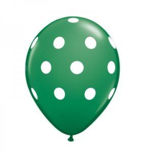 stip-ballon-groen-wit