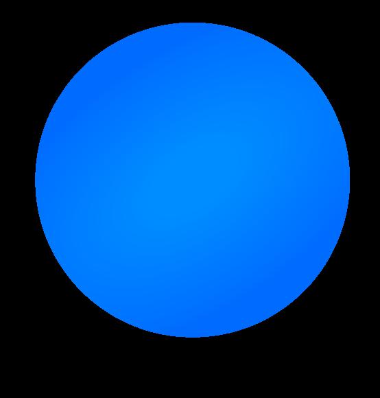 Reuzenballon blauw