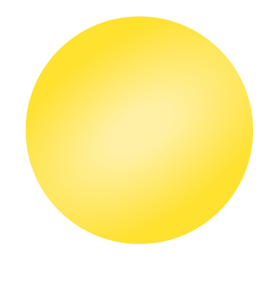 Reuzenballon geel
