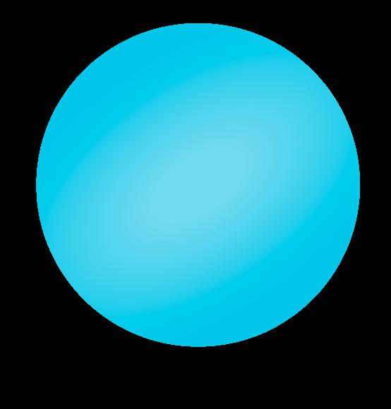 Reuzenballon lichtblauw