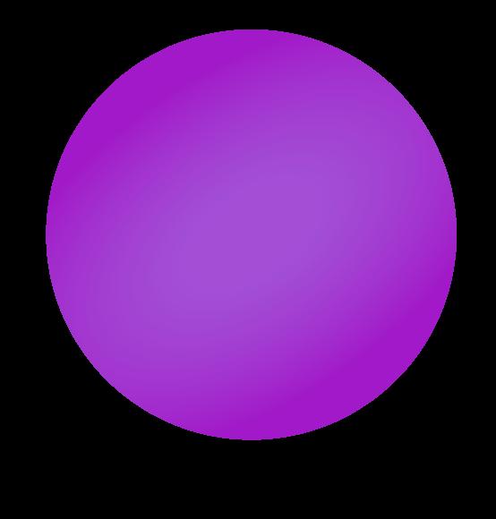 Reuzenballon paars