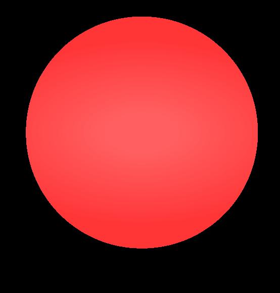 Reuzenballon rood