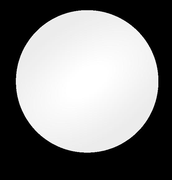 Reuzenballon wit
