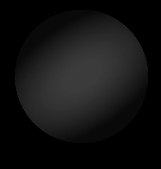 Reuzenballon zwart