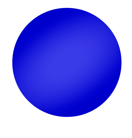 Reuzenballon donkerblauw