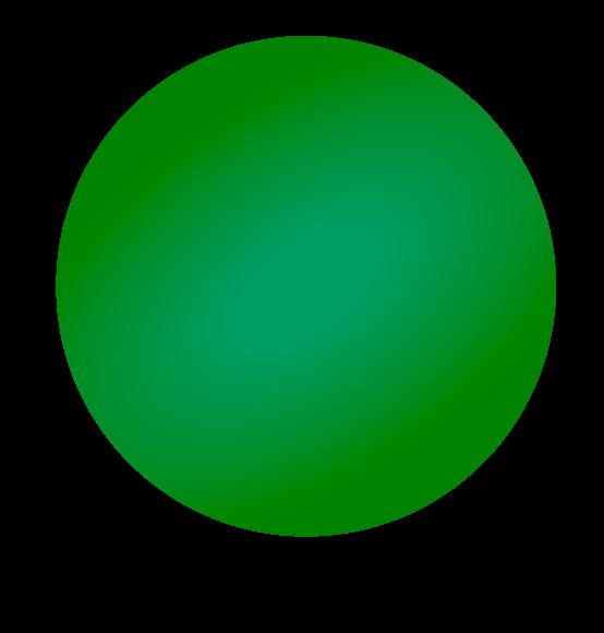 Reuzenballon Oxford-groen
