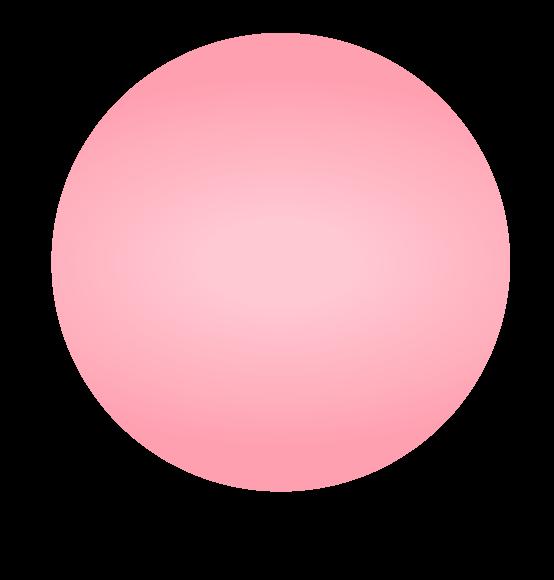 Reuzenballon lichtroze