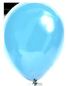 Metallic lichtblauw