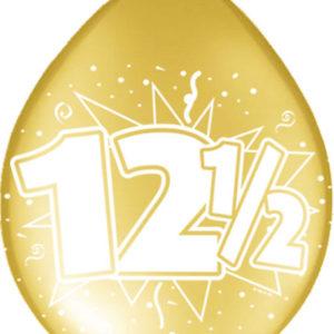 12,5 jaar goud