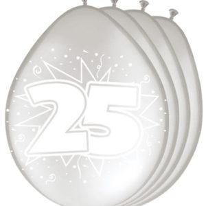 25 jaar zilver
