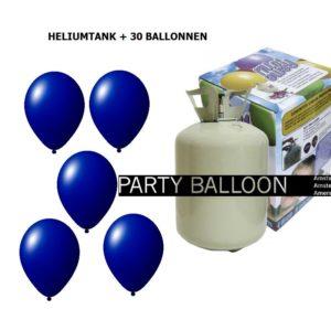 heliumtank+voor+circa+30+ballonnen D.BLAUW