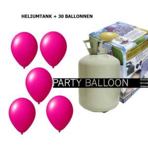Wegwerptank 30 ballonnen