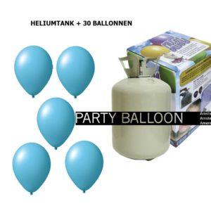 heliumtank+voor+circa+30+ballonnen L.BLAUW