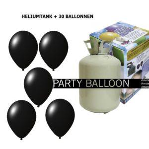heliumtank+voor+circa+30+ballonnen zwart