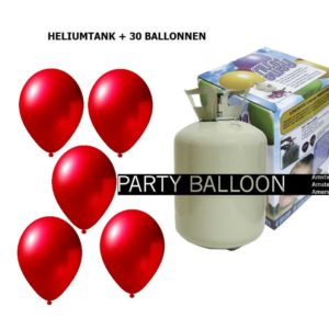 heliumtank+voor+circa+30+rood metallic