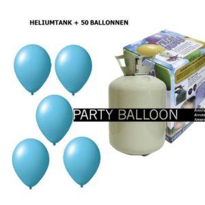 heliumtank+voor+circa+50+ballonnen L.BLAUW