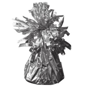 ballon-gewicht-zilver