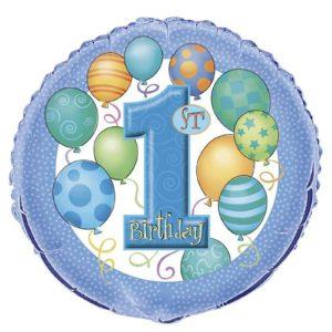 folieballon-1st-blue-balloons