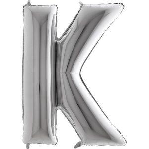 309S-Letter-K-Silver