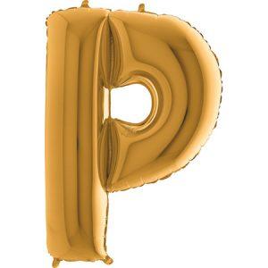 352G-Letter-P-Gold