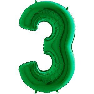 033Gr-Number-3-Green