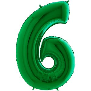 036Gr-Number-6-Green