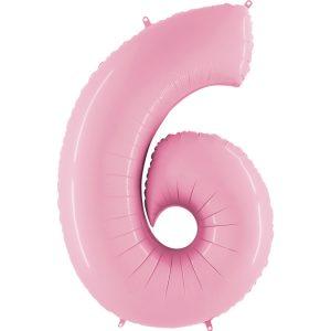 076PP-Number-6-Pastel-Pink