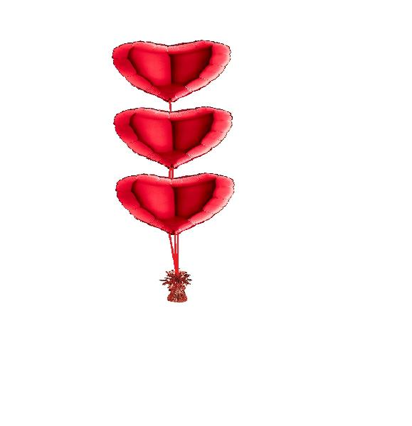 Ballonset a3 ballonnen folie hart 45cm