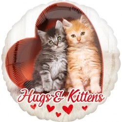 balon-folie-43-cm-hugs-kittens-amscan-36381