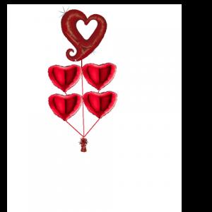 vervormd hart