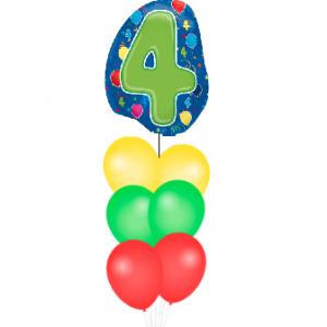 BALLONSET 4 JAAR