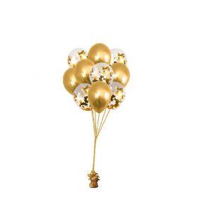 ballonset luxe chrome goud goed
