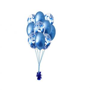 ballonset luxe d. blauw blauw conf goed