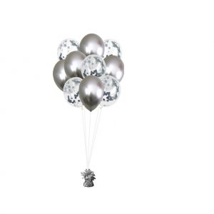ballonset luxe zilver r onf goed